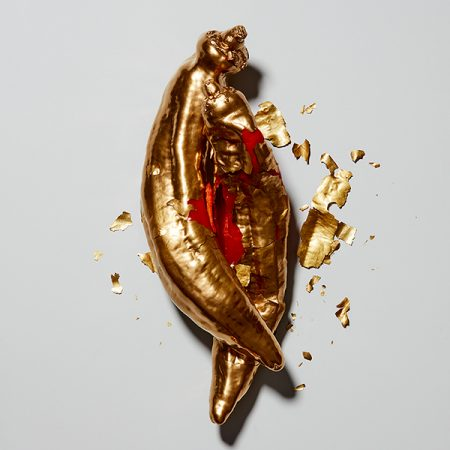 contemporary work by paul krokos living luxury art title red pepper 2
